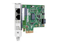 HP 656241-001 ETHERNET 1GB 2-PORT 361T ADAPTER - NETWORK ADAPTER - 2 PORTS.