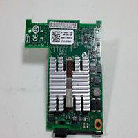 DELL 4KT53 X520 DUAL PORT MEZZANINE NETWORK CARD FOR M SERIES BLADES.