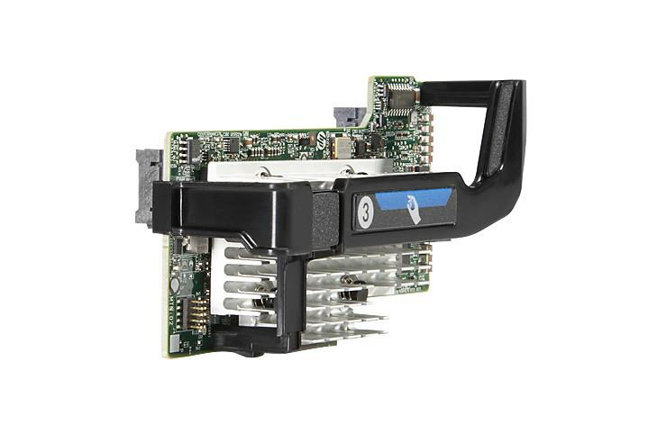 HP 700063-001 FLEXFABRIC 20GB 2-PORT 630FLB ADAPTER - PCI EXPRESS X8 - OPTICAL FIBER.