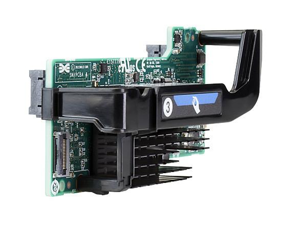 HP 700762-B21 FLEXFABRIC 20GB 2-PORT 650FLB ADAPTER - PCI EXPRESS V3.0(GEN 3) X8 - OPTICAL FIBER.