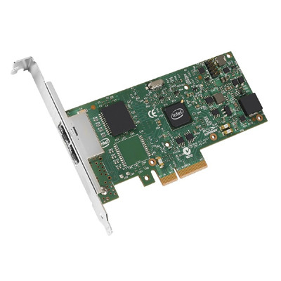 LENOVO 03T8759 I350-T2 PCIE 1GB 2 PORT BASE-T ETHERNET ADAPTER BY INTEL FOR THINKCENTER. NEW FACTORY SEALED.
