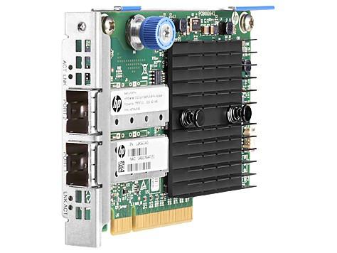 HP 779797-001 ETHERNET 10GB 2-PORT 546FLR-SFP+ ADAPTER - PCI EXPRESS 3.0 X8 - 2 PORT(S) - OPTICAL FIBER. NEW SEALED SPARE.