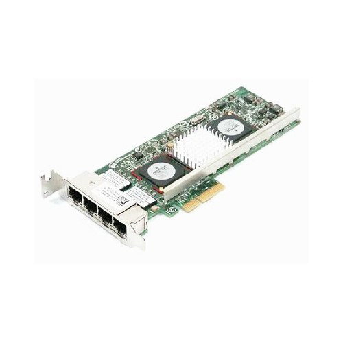 DELL 87TXY BROADCOM NETXTREME II 5709 GIGABIT QUAD PORT ETHERNET PCIE-4 CONVERGENCE NETWORK INTERFACE CARD.