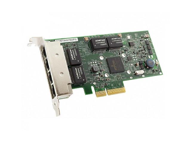 DELL 540-11147 BROADCOM BCM5719 1G QUAD PORT ETHERNET PCI-E 2.0 X4 NETWORK INTERFACE CARD. BRAND NEW.
