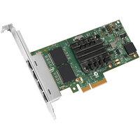 INTEL I350T4BLK SERVER ADAPTER PCI EXPRESS 2.0 X4 - 4 PORTS NETWORK ADAPTER. NEW OEM .