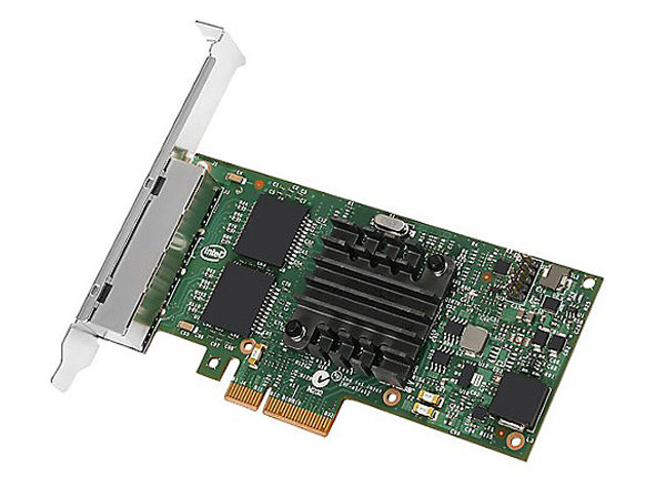 INTEL G15139-002 I350T4 SERVER ADAPTER PCI EXPRESS 2.0 X4 - 4 PORTS NETWORK ADAPTER. NEW FACTORY SEALED.