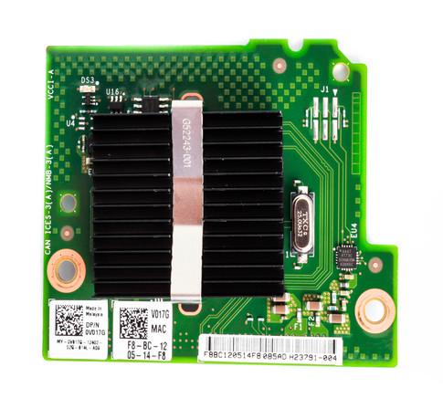 DELL XXCWW INTEL I350 QUAD PORT 1GB BLADE DAUGHTER CARD FOR POWEREDGE FC630/FC830/M630.
