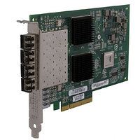 NETAPP 111-00481 4-PORT 8GB FIBRE CHANNEL PROTOCOL TARGET/INITIATOR ADAPTER WITH PCIE INTERFACE.