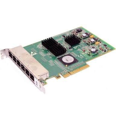 DELL YK537 6 PORT 1GB ETHERNET NIC SERVER ADAPTER.
