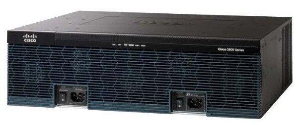 CISCO CISCO3925-SEC/K9 3925 SECURITY BUNDLE - ROUTER - DESKTOP - ETHERNET, FAST ETHERNET, GIGABIT ETHERNET-3U - EXTERNAL.