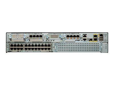 CISCO C2921-VSEC/K9 2921 VOICE SECURITY BUNDLE ROUTER - MODULAR - VOICE/FAX MODULE - GIGABIT ETHERNET.