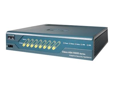 CISCO ASA5505-BUN-K9 ASA 5505 FIREWALL EDITION BUNDLE - SECURITY APPLIANCE - 10 USER.