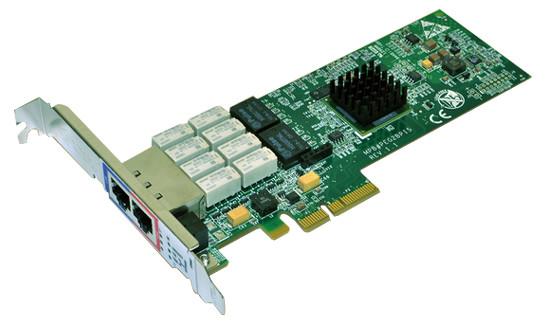 DELL K46N2 DUAL-PORT GIGABIT ETHERNET PCIE BYPASS SERVER ADAPTER.