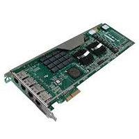 INTEL EXPI9014PTBLK PCI-E PRO/1000 PT QUAD PORT SERVER ADAPTER.