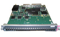 CISCO WS-X6524-100FX-MM CATALYST 6500 24-PORT 100FX, MT-RJ, FABRIC-ENABLED.
