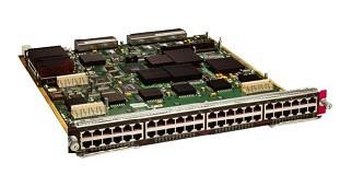 CISCO - (WS-X6548V-GE-TX) SWITCH 48 PORTS - EN FAST EN GIGABIT EN 10BASE-T 1000BASE-TX 100BASE-TX PLUG-IN MODULE.