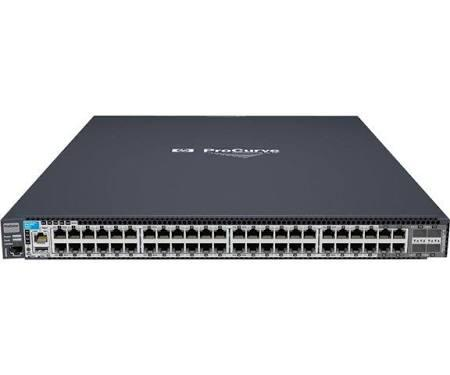 HP J9148-69001 E2910-48G-POE+ AL SWITCH - SWITCH - MANAGED - 48 X 10/100/1000 + 4 X SHARED SFP - DESKTOP - POE.