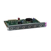 CISCO WS-X4506-GB-T CATALYST 4500 6PORT 10/100/1000 POE OR SFP.