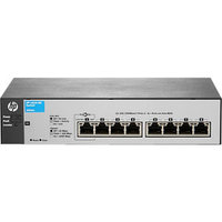 HP - 8 PORTS - MANAGEABLE - 7 X RJ-45 - 10/100BASE-TX, 10/100/1000BASE-T - WALL MOUNTABLE, DESKTOP, RACK-MOUNTABLE (J9800A). NEW FACTORY SEALED.