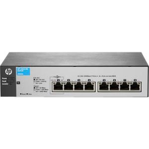 HP - 8 PORTS - MANAGEABLE - 7 X RJ-45 - 10/100BASE-TX, 10/100/1000BASE-T - WALL MOUNTABLE, DESKTOP, RACK-MOUNTABLE (J9800-61001). NEW FACTORY SEALED.
