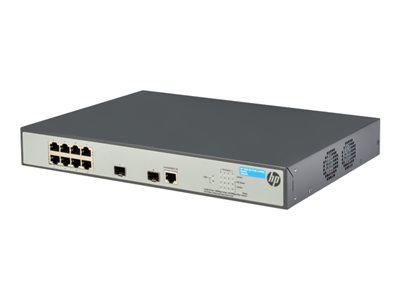 HP JG922A 1920-8G-POE+ - SWITCH - 8 PORTS - MANAGED - DESKTOP, RACK-MOUNTABLE. NEW RETAIL FACTORY SEALED.