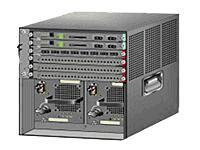 CISCO WS-6506 SWITCH CHASSIS 6 SLOT NO POWER SUPPLY (CUSTOMER PAY FOR SHIPPING).
