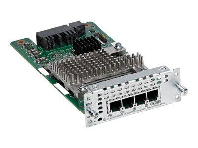 CISCO NIM-4FXS 4 PORT FXS NETWORK INTERFACE MODULE.NEW FACTORY SEALED.