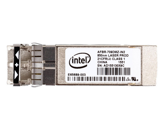 INTEL AFBR-709DMZ-IN2 SFP+ TRANSCEIVER MODULE - 1000BASE-SX, 10GBASE-SR - PLUG-IN MODULE. BRAND NEW.(DELL DUAL LABEL).INTEL AFBR-709DMZ-IN2 SFP+