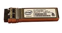 INTEL FTLX8571D3BCVIT1 SFP+ TRANSCEIVER MODULE - 1000BASE-SX, 10GBASE-SR - PLUG-IN MODULE. NEW RETAIL FACTORY SEALED.(DELL DUAL LABEL).INTEL