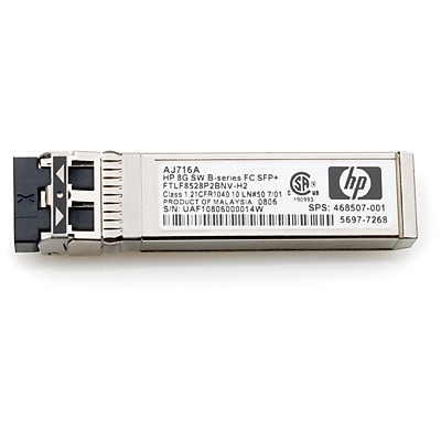 HP 720998-001 MSA 2040 8GB SHORT WAVE FIBRE CHANNEL SFP 4 PACK TRANSCEIVER. NEW RETAIL FACTORY SEALED.