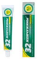 Паста зубная 32 ЖЕМЧУЖИНЫ Органическая ромашка, 100 г