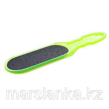 Терка для стоп пластиковая CLASSIC 10 TYPE 1 (100/180), зеленая