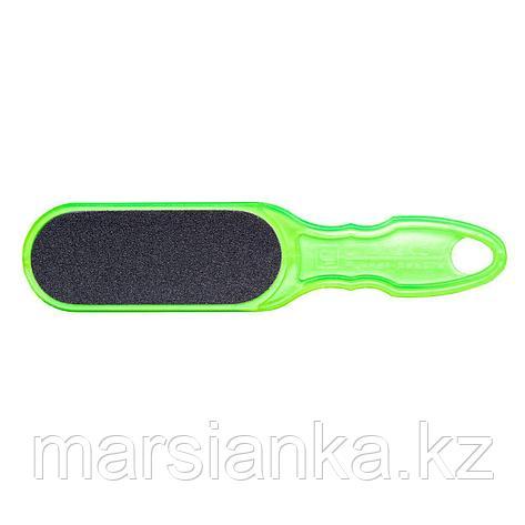 Терка для стоп пластиковая CLASSIC 10 TYPE 1 (100/180), зеленая, фото 2