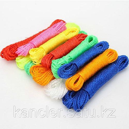 Бумажная крученная цветная веревка толщин1.5мм 15 м