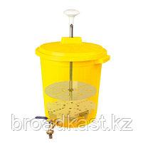 Бак с прессом для дезинфекции  35 литров , фото 2