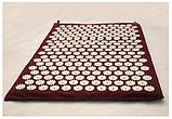 Аппликатор Кузнецова массажный акупунктурный коврик с подушкой массажер для спины., фото 6