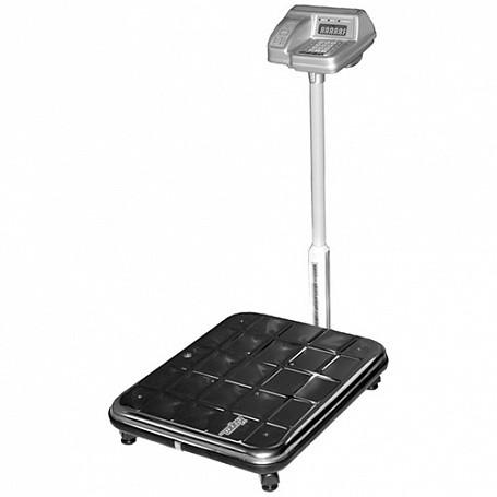 Весы электронные ВЭУ-200С-50/100-СТ-Д-У/01-23 (600х450х300мм, платф. 600х450, со стойкой, до 200 кг)