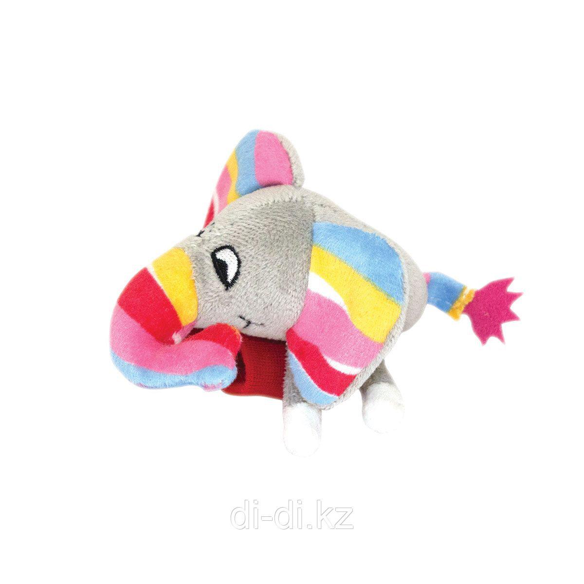 """Happy Snail Игрушка-погремушка на ручку """"Слонёнок Джамбо"""""""
