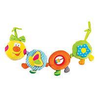 "Игрушка-подвес Happy Snail ""Весёлая гусеница Камилла"", фото 1"