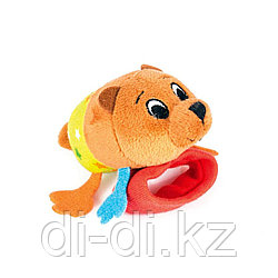 "Happy Snail Игрушка-погремушка на ручку ""Медвежонок Берни"""