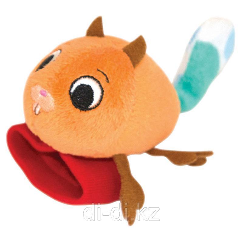 "Игрушка-Погремушка Happy Snail на ручку ""Бельчонок Хруми"""