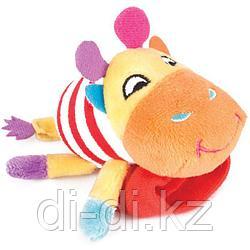 "Игрушка-погремушка Happy Snail на ручку ""Жираф Спот"""