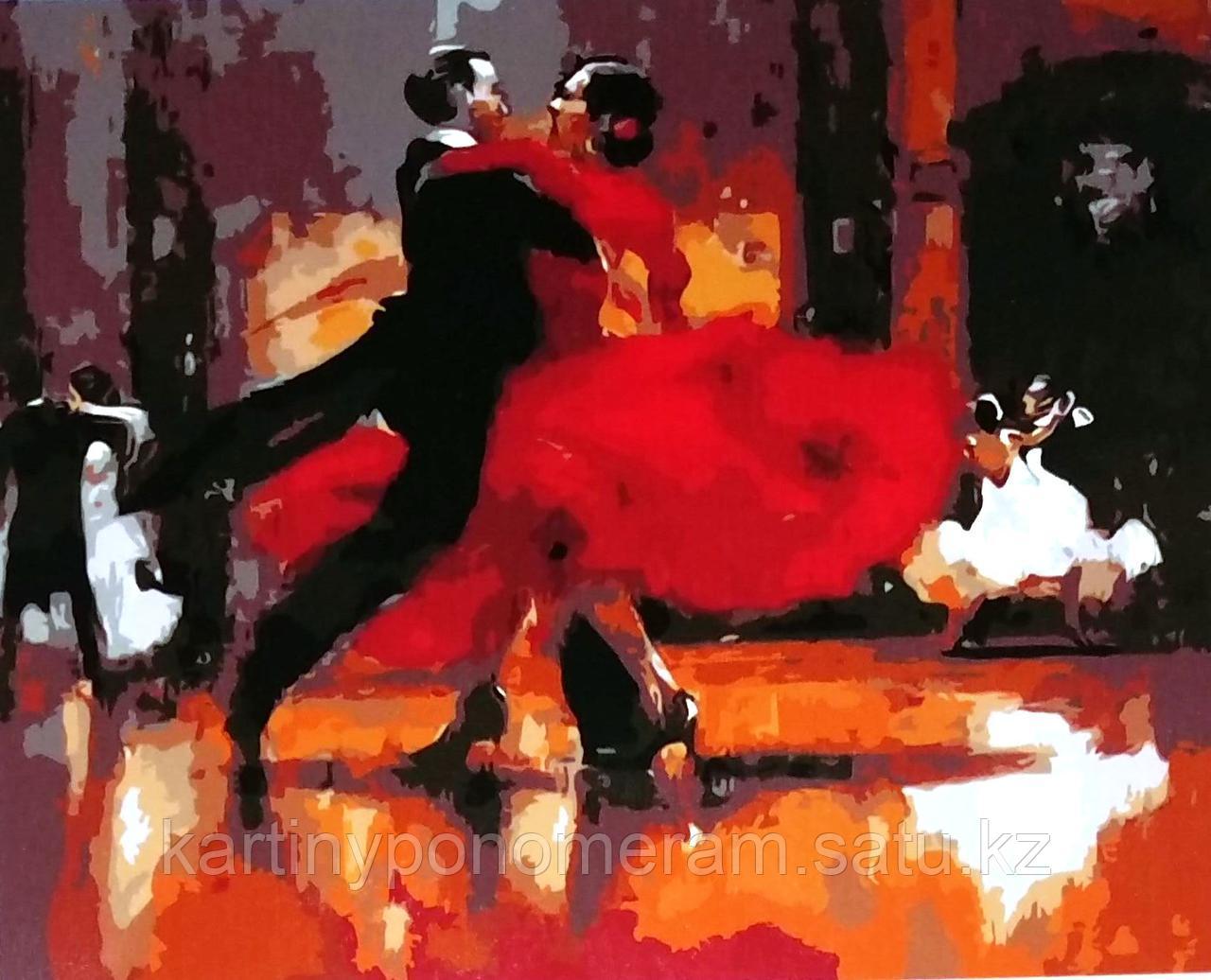 "Картина по номерам ""Фестиваль танго"""
