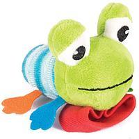 "Игрушка Happy Snail погремушка на ручку ""Лягушонок Квака"", фото 1"