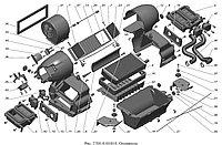 Каталог запчастей «Панель приборов» на ГАЗ-3302
