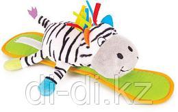 "Крепитель Happy Snail ""Зебра Фру-Фру"" (с пищалкой)"
