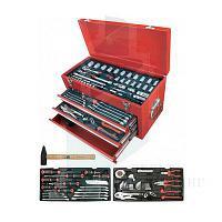Инструментальный ящик с набором инструмента AmPro T47109, 123 предмета