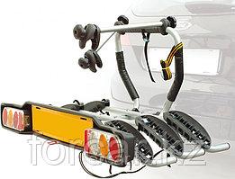 Багажник для перевозки 3-х велосипедов на фаркопе Peruzzo Siena откидной (Италия)