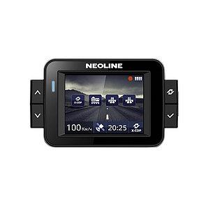 Гибрид, Neoline, X-COP 9000, FullHD 30 к/с, Процессор Ambarella A7, Угол обзора 135°, Встроенный GPS-модуль, Р