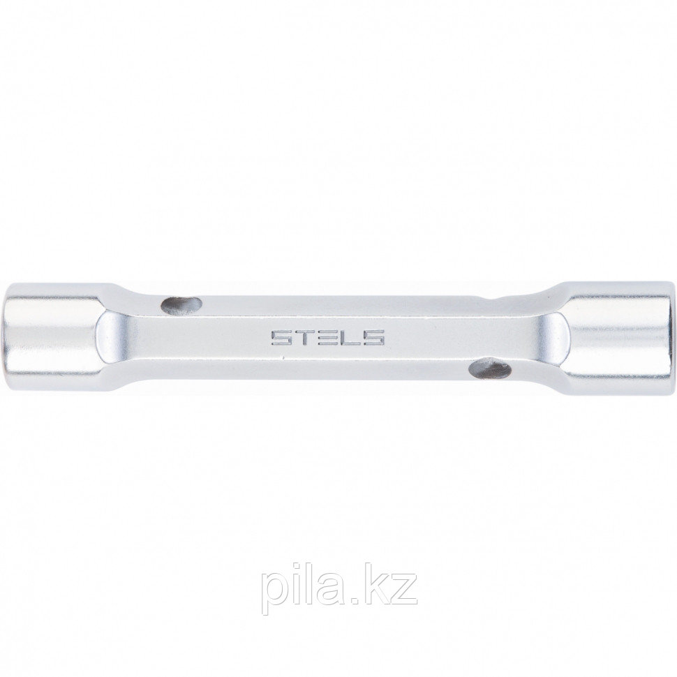 Ключ трубка торцевой усиленный, 22х24 мм, CrV Stels